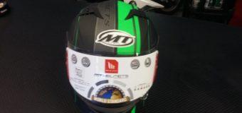 MT Helm Grün-Schwarz